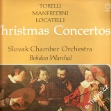 LP Christmas Concertos, Slovak Chamber Orchestra, Bohdan Warchal, 9111 0431 Opus