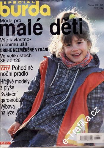 00991599f Časopisy - Burda   1999 Pro malé děti, časopis Burda Speciál ...