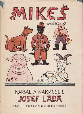Mikeš díl první a druhý / Josef Lada, 1968