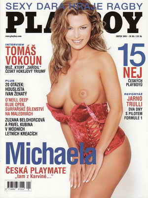 2005/08 časopis Playboy