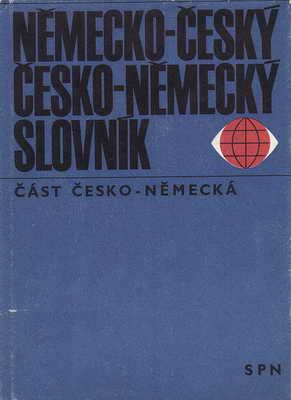 Německo - Český, Česko - Německý slovník oba díly / Dr. František Widimský, 1970