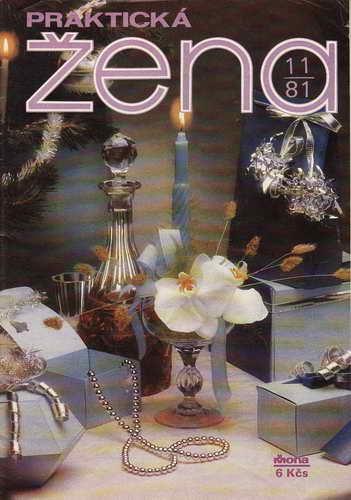 1981/11 časopis Praktická žena / velký formát