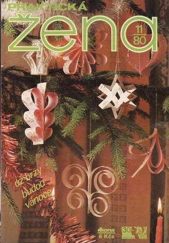 1980/11 časopis Praktická žena / velký formát