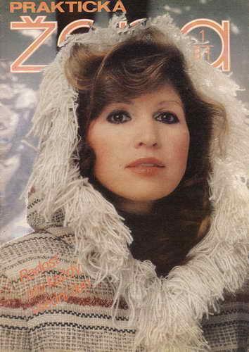1981/01 časopis Praktická žena / velký formát
