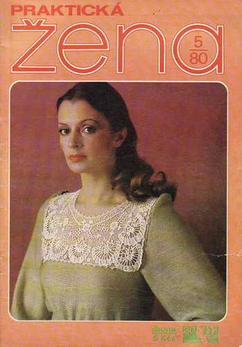 1980/05 časopis Praktická žena / velký formát