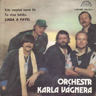 SP Orchestr Karla Vágnera - Linda a Pavel, 1987
