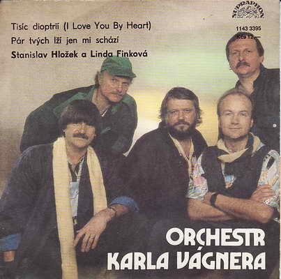 SP Stanislav Hložek a Linda Finfová, orchestr Karla Vágnera, 1987