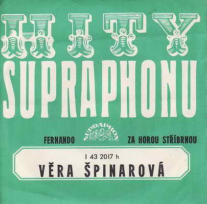 SP Věra Špinarová, 1976, Fernando