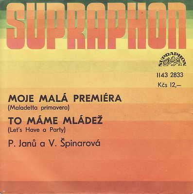SP Petra Janů, Věra Špinarová, 1984