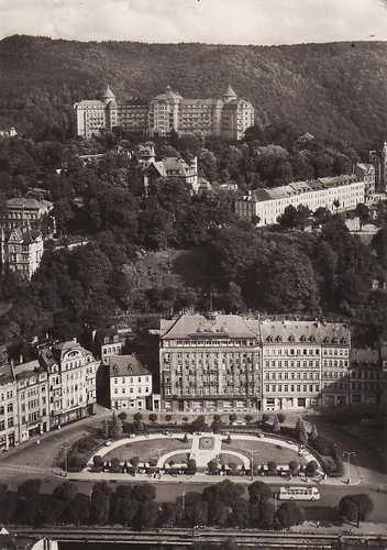 Pohlednice, Karlovy Vary, Leninovo náměstí