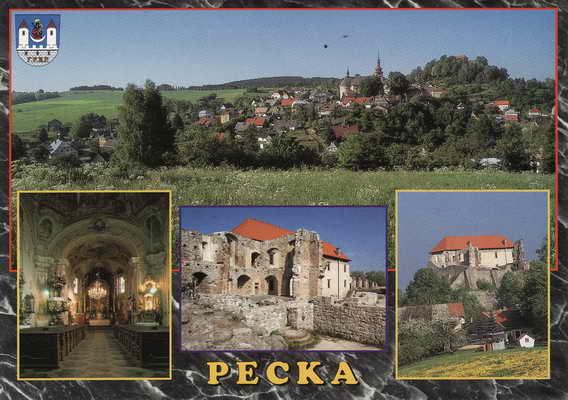 Pohlednice, Pecka