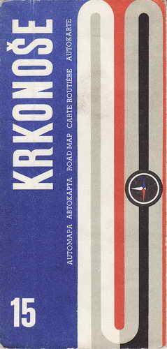 Mapy, Krkonoše, 1:200 000, 1974