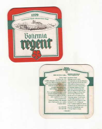 *Regent Bohemia, pivovar Třeboň, 1379