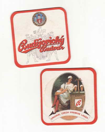 *Budějovický Budvar, original czech premium lager