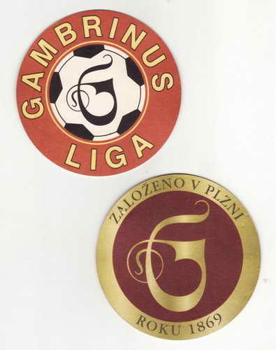 *Gambrinus liga, založeno v Plzni 1869