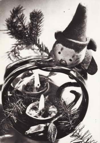 Pohlednice, Vesele do Nového roku, 1970