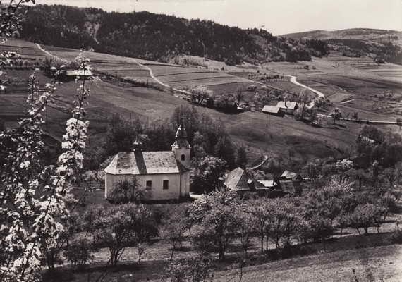 Pohlednice, Hostýnské vrchy, jaro na Rusavě