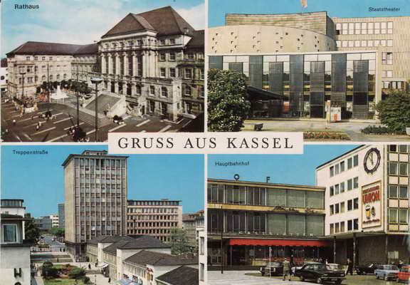Pohlednice, Gruss aus Kassel, 1987