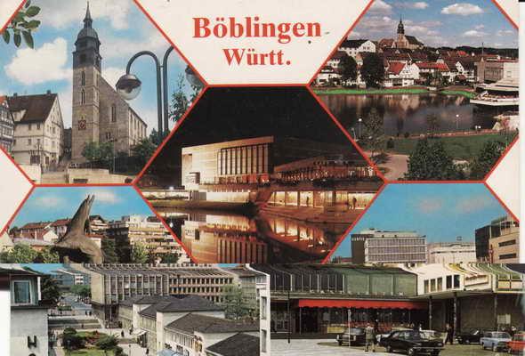 Pohlednice, Boblingen Wurtt