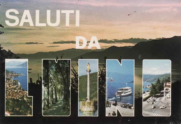 Pohlednice, Saluti da, Luino, Lago Maggiore