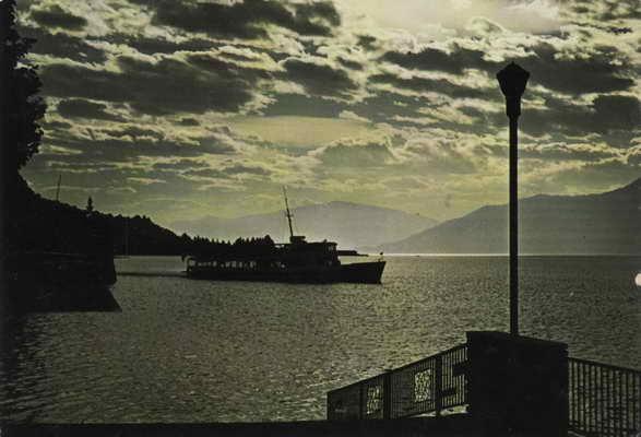 Pohlednice, Lago Maggiore da Luino, 1988