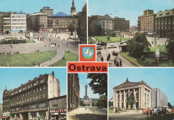 Pohlednice, Ostrava