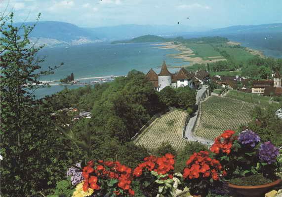 Pohlednice, Schloss Erlach