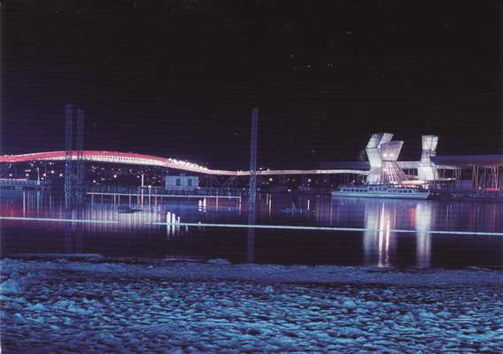 Pohlednice, Arteplage Biel Bienne, Expo 02
