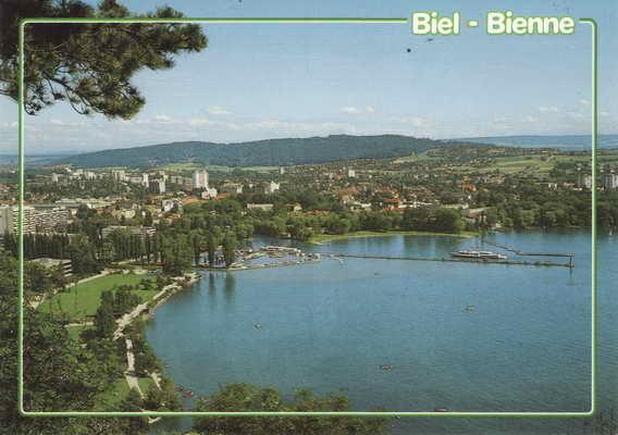 Pohlednice, Biel Bienne