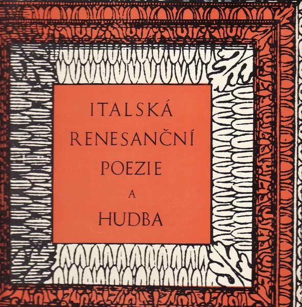 LP italská renezanční poezie a hudba, 1965