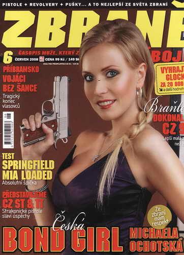 2008/06 Časopis Zbraně, časopis muže, který zná svůj cíl