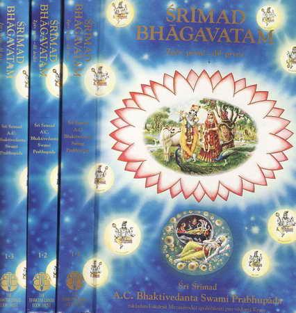 Šrímad Bhágavatam 1, 2, 3 díl / Šrí Šrímad, 1992