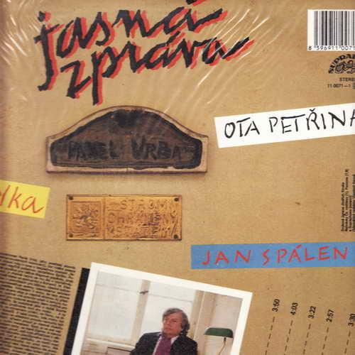 LP Jasná zpráva, Pavel Vrba, 1988