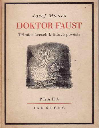 Doktor Faust / Josef Mánes, 1921