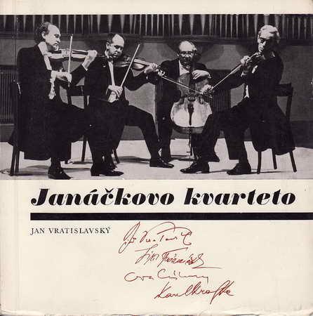 Janáčkovo kvarteto, vložená SP deska / Jan Vratislavský, 1975