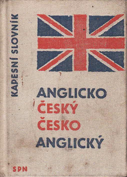 Anglicko Český, Česko Anglický kapesní slovník, / K.Hais, 1961
