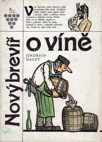 Nový brevíř o víně / Jindřich Hauft, 1989