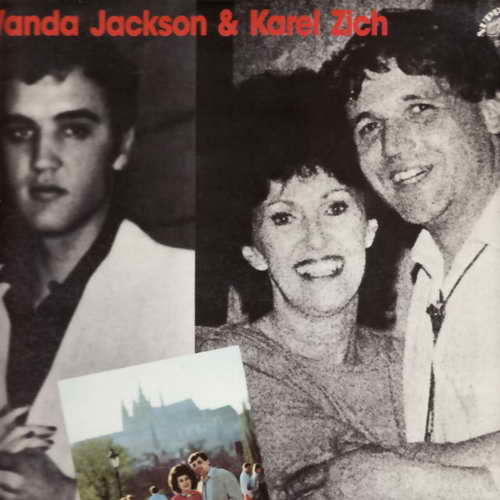 LP Wanda Jackson, Karel Zich, Let´s Have a party in Prague, 1987