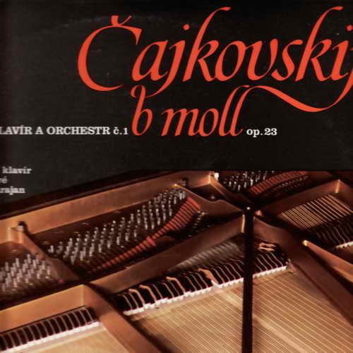 LP Čajkovskij B moll, pro klavír a orchestr