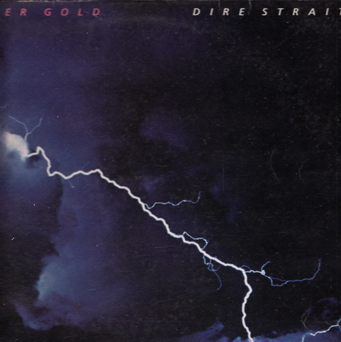LP Dire Straits, Love over gold, 1984