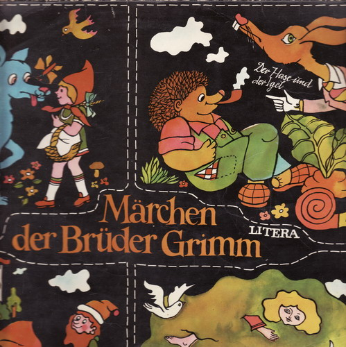 LP Pohádky bratří Grimmů, německy