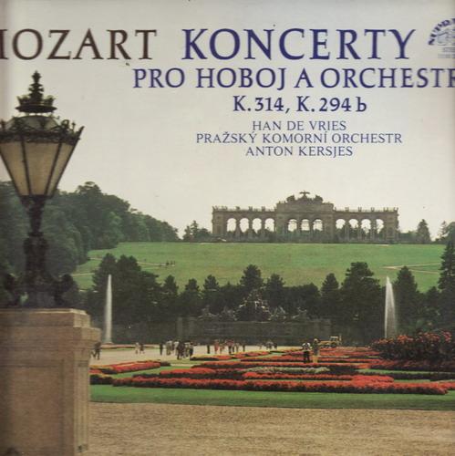 LP Wolfgang Amadeus Mozart, koncerty pro hoboj a orch.1979