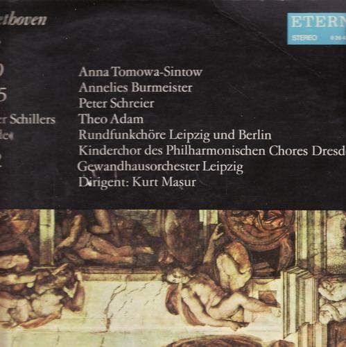 LP Ludwig van Beethoven 2album, D durop.36, D moll op.125, 1972/73