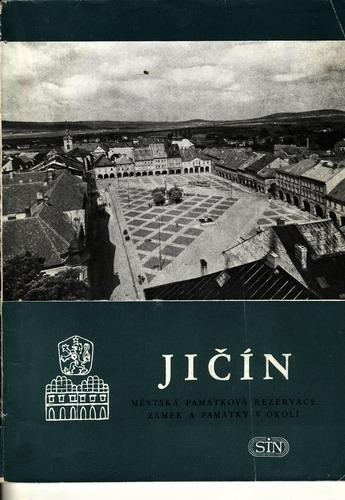 Jičín, městská památková rezervace / J.Wágner, 1965