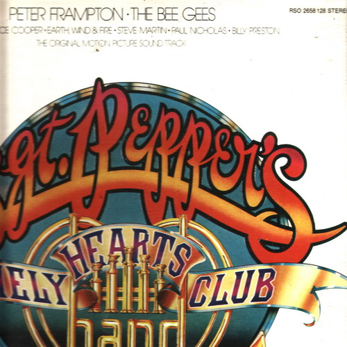 LP The Bee Gees - Sgt.Pepper´s lonely heards club band / 1978, 2album