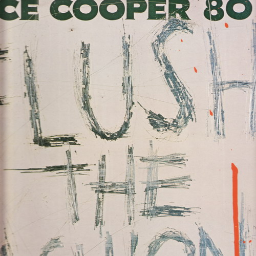 LP Alice Cooper ´80, Flush the Fashon, 1980