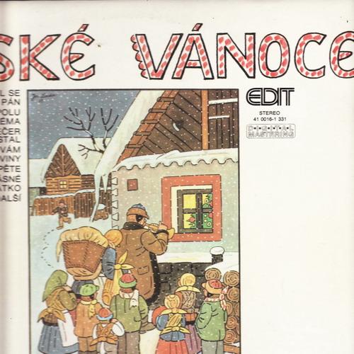 LP České vánoce, Václav Hybš, 1990