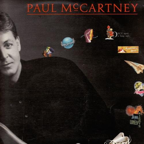 LP Paul McCartney - Band On The Run, 2album, 1989