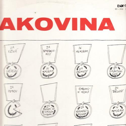 LP Karel Kryl, Rakovina, 1990 Bonton