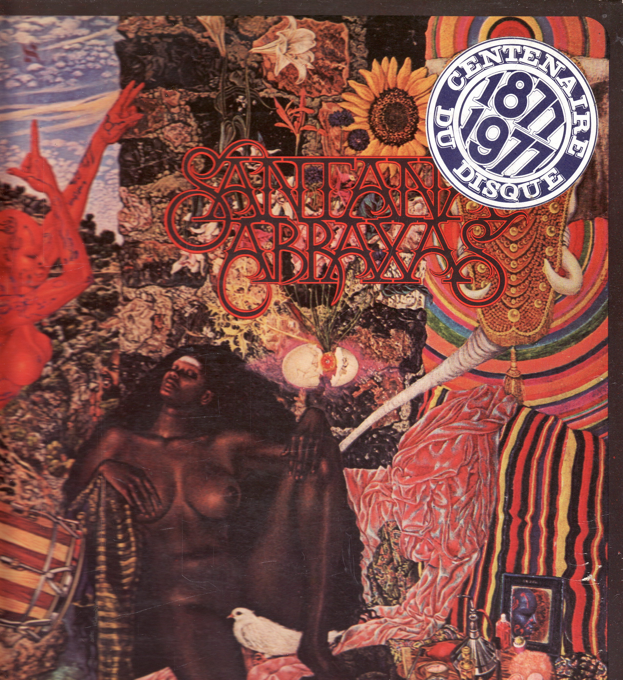 LP Santana, Abraxas, 1970, Holland, CBS